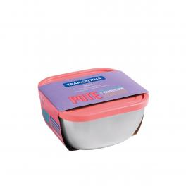 Pote Inox com Tampa Rosa 1,5L Freezinox Tramontina 61221165