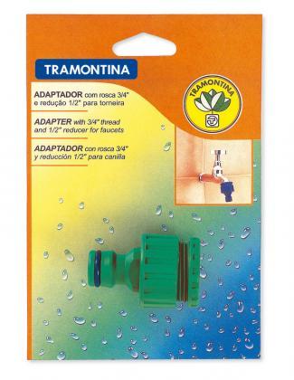 ADAPTADOR PARA JARDIM EM CARTELA TRAMONTINA (78502500)