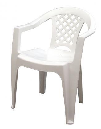 Cadeira Iguape Com Braços Branca Tramontina 92221010
