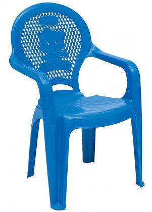 Cadeira Infantil Azul Estampada Catty Tramontina 92264070