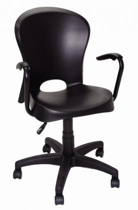 Cadeira Jolie com Rodízio Preta Summa Tramontina 92076009