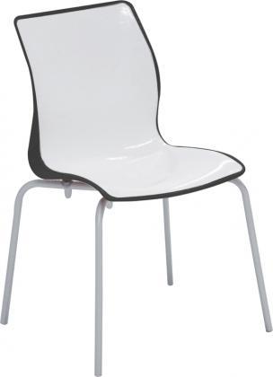 Cadeira Maja Preta/Branca Tramontina 92063910