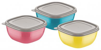 Conjunto de Potes 3 Peças Mixcolor Tramontina 25099947