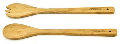 Conjunto Garfo e Colher Bamboo Tramontina 10239318