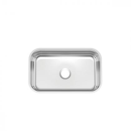 Cuba de embutir Tramontina Lavínia 56 BL em aço inox polido 56x34 cm