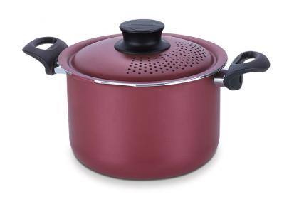 Espagueteira Alumínio Vermelha 24cm Paris Tramontina 20535724