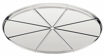 Fôrma Pizza com Vincos 30cm Inox Tramontina 61744300