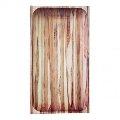Gamela Grande para servir Tramontina madeira Teca