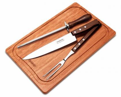 Kit para Churrasco 4 Peças Tradicional Tramontina 22299047