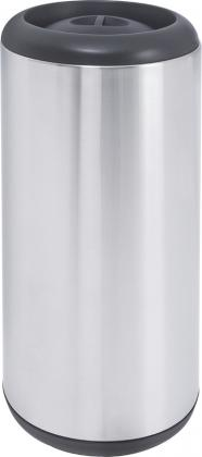 Lixeira Aço Inox Cápsula 15L Tramontina 94540010
