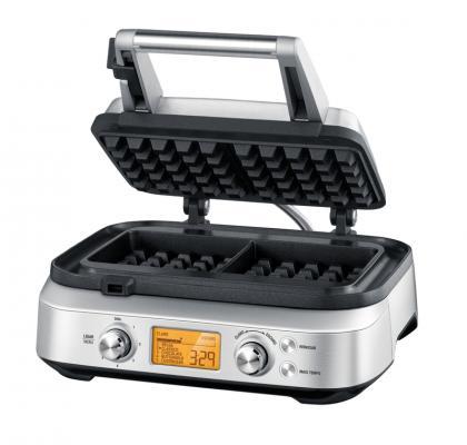 Máquina de Waffle Tramontina by Breville em Aço Inox Fosco 12 Funções 220 V