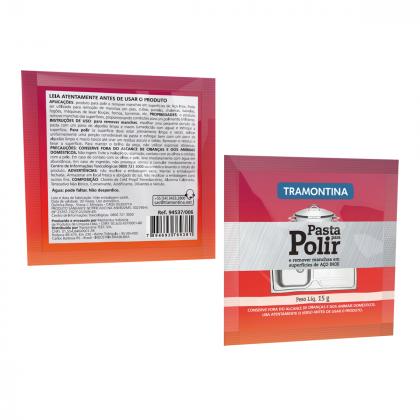 Sachê para Polimento e Remoção de Manchas em Aço Inox Tramontina 15g