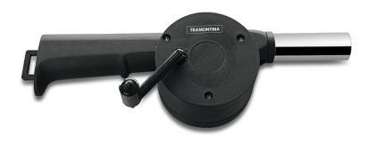 Soprador Manual para Carvão Tramontina em Polipropileno e Aço Inox