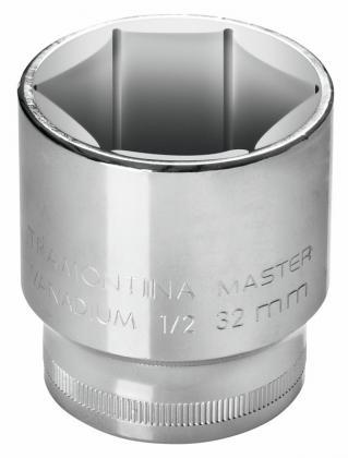 Soquete Aço Cromo Sextravado 16mm Tramontina 43603116