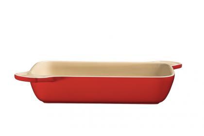 Travessa Lyon Ceramica 25cm Vermelha 20900725 Tramontina